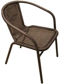 Besk Wattled Garden Chair Black
