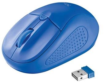 Kompiuterio pelė Trust Primo Blue, bevielė, optinė