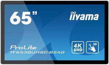 "Monitorius Iiyama TF6538UHSC-B2AG, 65"", 8 ms"