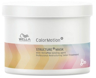 Kaukė plaukams Wella Professionals Colour Motion Structure, 500 ml