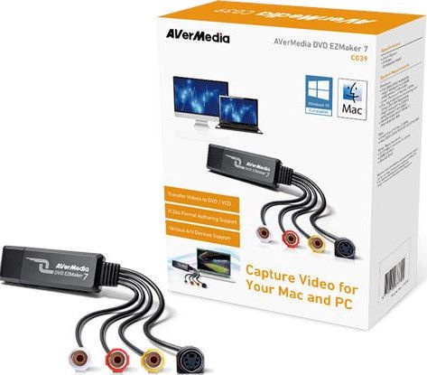 AverMedia C039 DVD EZMaker 7 Video Grabber
