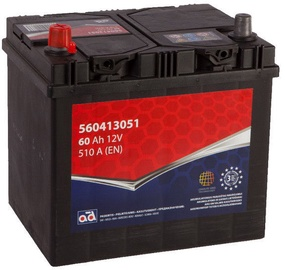 AD Europe Starter Battery 60Ah 510A Left