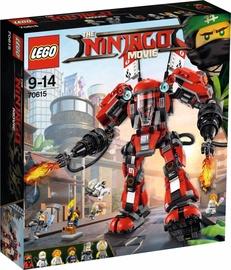 Konstruktorius LEGO Ninjago Movie, Ugninis robotas 70615