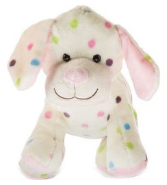 Axiom Dog With Dots Pink 25cm