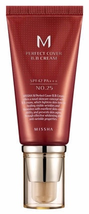 BB sejas krēms Missha M Perfect Cover SPF42 PA+++ 25, 50 ml