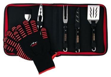Gizzo BBQ Tool Set & BBQ Gloves