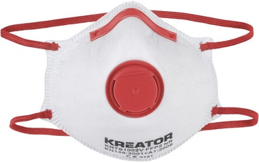 Kreator KRTS1001V Dust Mask FFP1 with Valve 2pcs