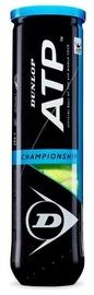 Tennisepall Dunlop ATP, kollane, 4 tk
