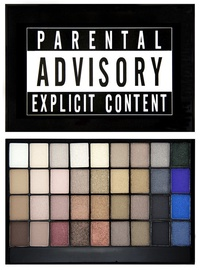 Makeup Revolution London Slogan Palette 28g Explicit Content
