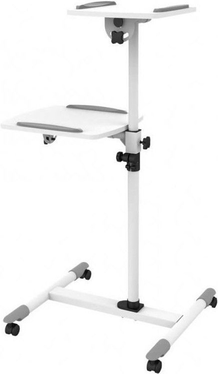 Стойка Techly 309593 Universal Trolley for Notebook / Projector White