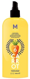 Mediterraneo Sun Carrot Sunscreen Dark Tanning Spray SPF6 200ml