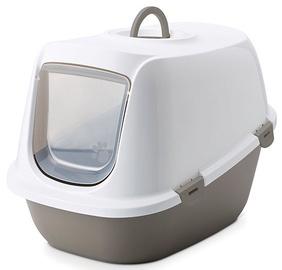 Кошачий туалет Savic Leo, белый, 460x640x450 мм
