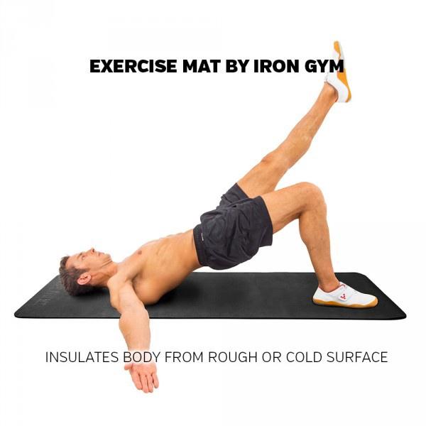 Treniruočių kilimėlis Iron Gym, 6 mm