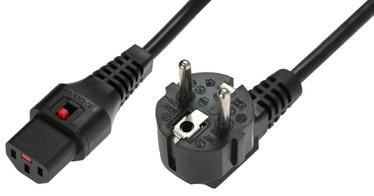Assmann Cable Schuko /IEC C13 Black 2m