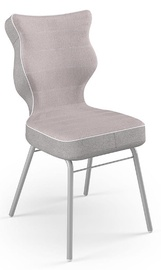 Детский стул Entelo Solo CR08, розовый/серый, 390 мм x 850 мм