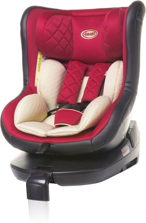 4Baby Car Seat Roll-Fix Red