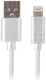 Lanberg USB To Lightning White 1m