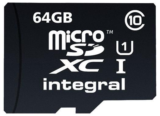 Карта памяти Integral 64GB Ultima Pro Micro SDHC/HX UHS-I Class10