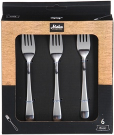 Maku Basic Dessert Fork Set Of 6Pcs