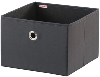 Leifheit Cloth Box Big Box 27.5x28x19cm Black/Combi System