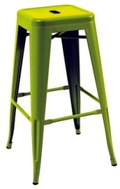 Signal Meble Hoker Long Bar Stool Green