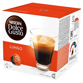 Kava Nescafe Dolce Gusto Lungo, 104 g (16 kaps.)