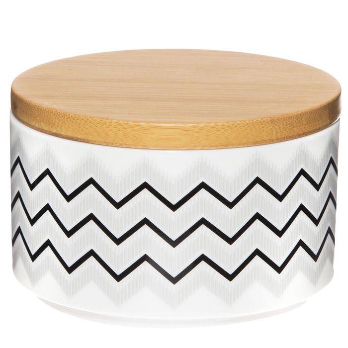 18ce9c828ae Maku Storage Bin Porcelain/Bamboo 10x6.5cm 010035 - Krauta.ee