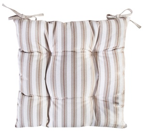 Home4you Wild Rose Chair Pad 40x40cm Stripes