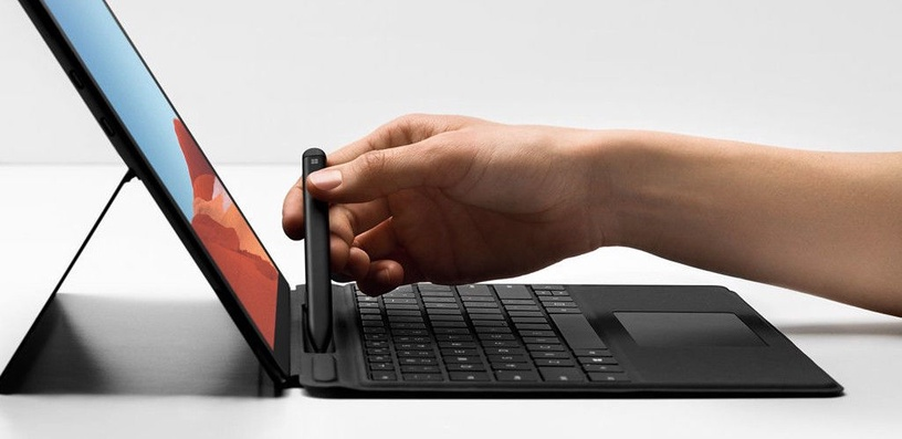 Microsoft Signature Keyboard for Surface Pro X with Slim Pen Black