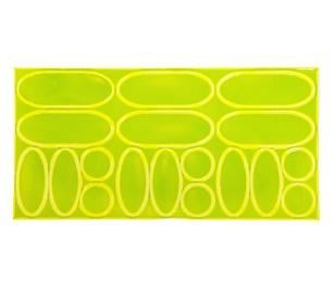 Ferts Reflecting Light Stickers FSVST-019 100/500 Yellow