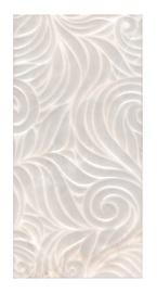 Keraminės dekoruotos sienų plytelės Virgiliano Grey, 60 x 30 cm