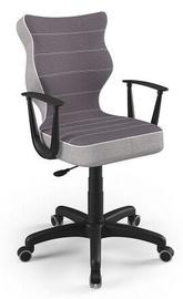 Детский стул Entelo Norm CR07, черный, 400 мм x 1045 мм