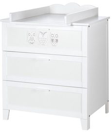 Klups Chest Of Drawers Marsell White