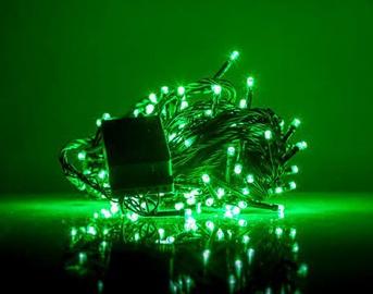 Elektriskā virtene EV LED 100, zaļa, 7 m