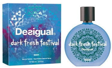Tualetinis vanduo Desigual Dark Fresh Festival, 100 ml EDT