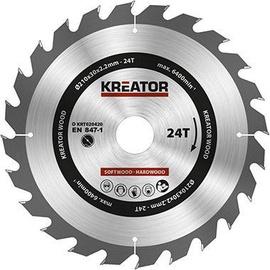 Kreator Sawblade 210x30x2.2mm 24T