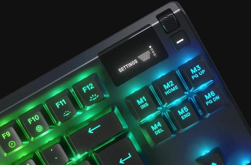 SteelSeries APEX 7 TKL Mechanical Gaming Keyboard Red Black