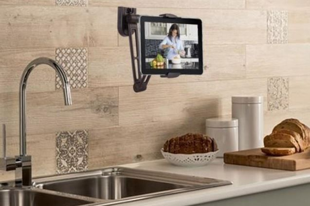 "Techly Wall Extensible Support for Tablet 4.7""-12.9"""