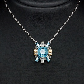 Diamond Sky Pendant Milanа With Swarovski Crystals
