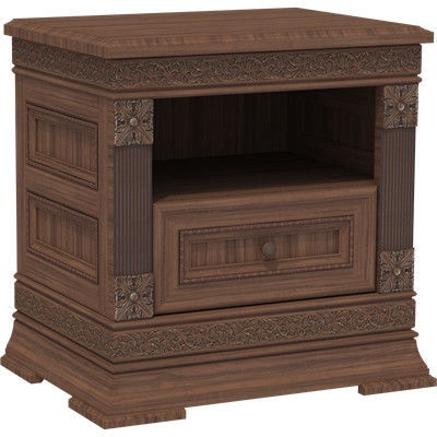 MN Nightstand T1-60 Brown 3003014