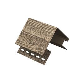 Plastikinė išorinio kampo juostelė lauko dailylentėms Timber