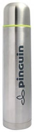 Pinguin Vacuum Thermos Bottle 1l Silver
