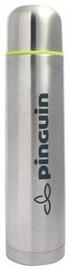 Pinguin Vacuum Thermos Bottle 1l Silver