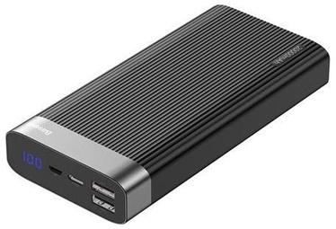 Baseus Parallel Dual USB QC 3.0/USB Type-C Power Bank 20000mAh Black
