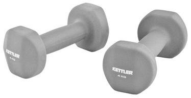 Kettler 7371-090 Neoprene Dumbbells 2x4 kg