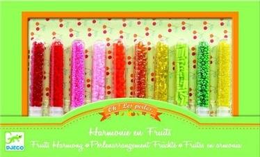 Apyrankių gaminimo rinkinys Djeco Stop Ohh Beads Fruits Harmony