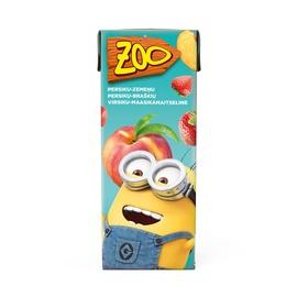 Sultys Zoo Ice Age, persikų, braškių, 0,2 l