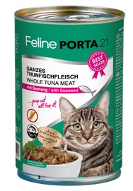 Feline Porta 21 Cat Wet Food w/ Tuna & Seaweed 400g