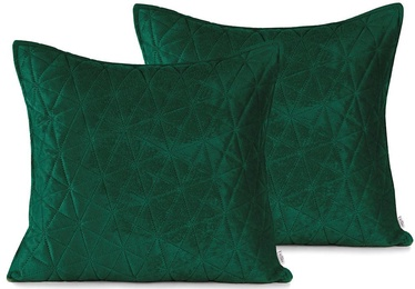 AmeliaHome Laila Pillowcase Green 45x45cm 2pcs