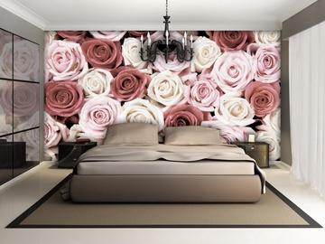Fototapete ar rozēm, 2.54x1.84 m